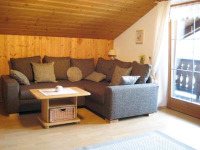 Ferienwohnung Aigner - Wohnzimmer