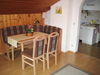 Ferienwohnung Aigner - Essecke