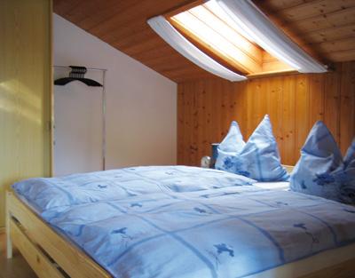 Ferienwohnung Aigner - Schlafzimmer
