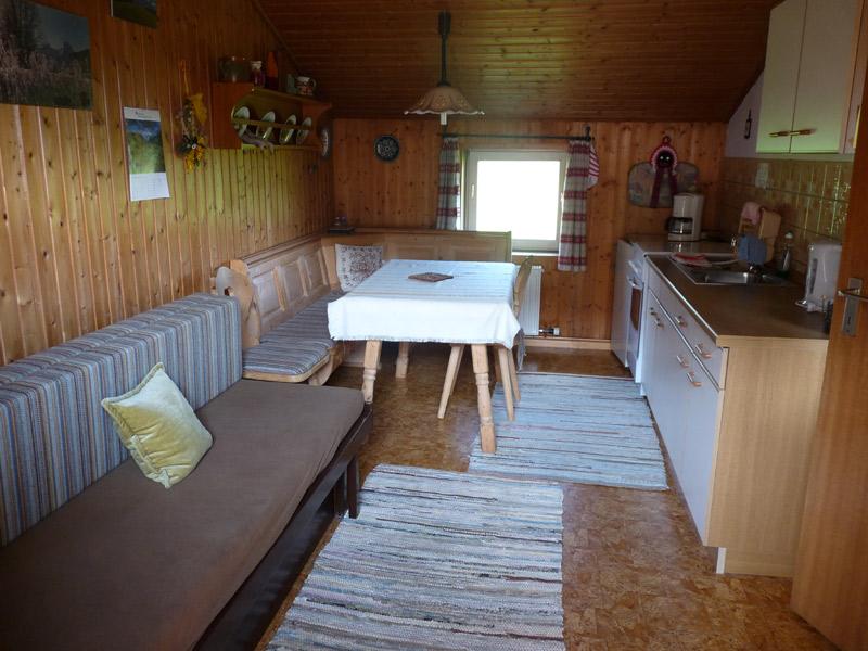 Haus Storchenalm - Wohnküche