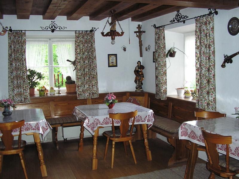 Haus Scheuerbichl - Aufenthaltsraum
