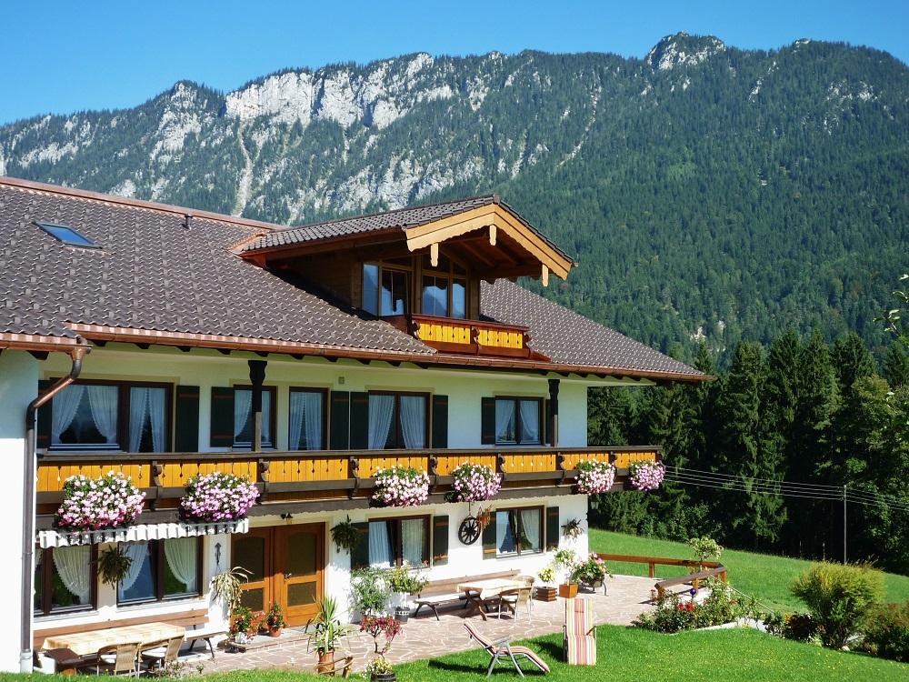 Gästehaus Wegscheidlehen - Liegewiese